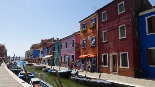 Casas de colores de Burano