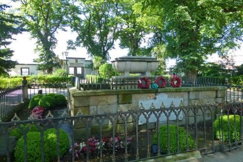 Tumba de Sir John Moore en el Jardín de San Carlos en La Coruña