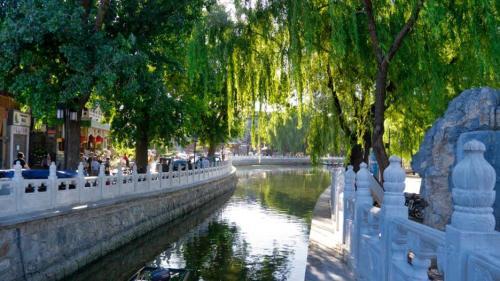 Lagos Shichahai, uno de los parques más visitados de Pekín