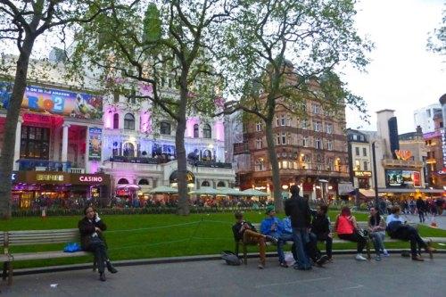 Leicester Square, el corazón del West End de Londres