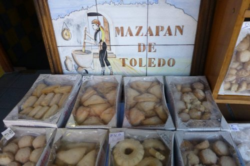 Mazapanes de Toledo, qué comprar en toledo, recuerdos, souvenirs y productos típicos