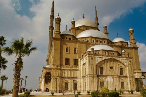 Mezquita de Alabastro en la Ciudadela de Saladino