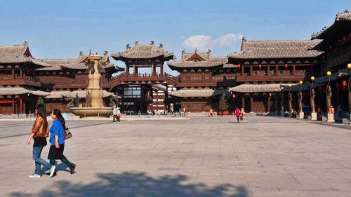 Conjunto de edificios del Monasterio Huayan en Datong