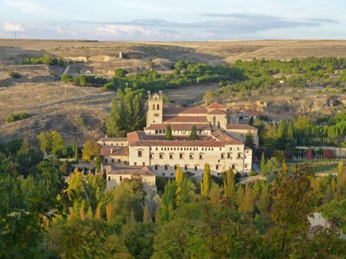 Monasterio de Santa María del Parral en las afueras del casco histórico de Segovia