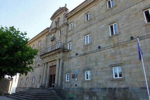 Monasterio de San Vicente del Pino, actual Parador de Turismo de Monforte de Lemos