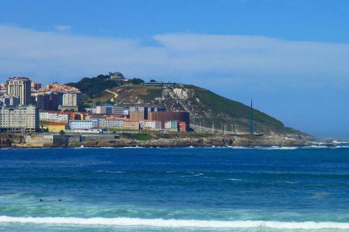 Monte de San Pedro, uno de los numerosos parques y jardines de La Coruña