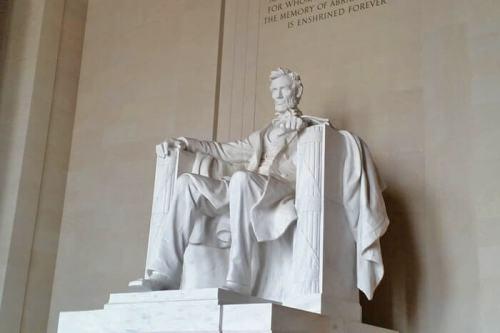 Monumento a Lincoln en Washington D.C, 16º presidente de los Estados Unidos