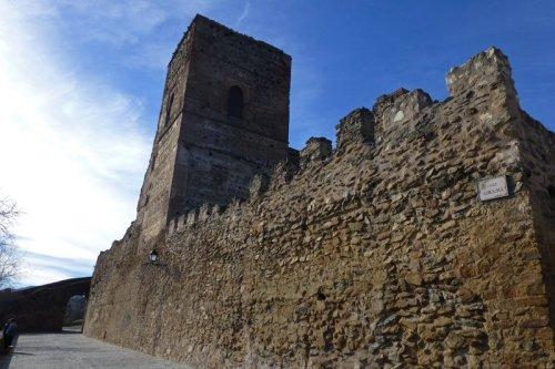 Recorrido del Belén Viviente de Buitrago del Lozoya, junto a la muralla y el castillo