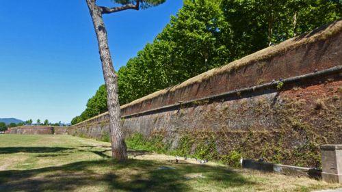 Muralla de Lucca, una obra maestra de la fortificación urbana del Renacimiento