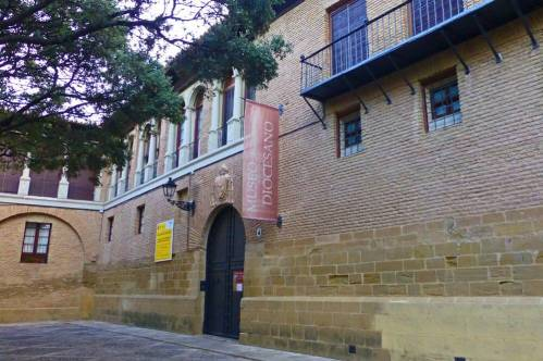 Museo Diocesano de Huesca, en su interior acoge una importante colección de arte sacro