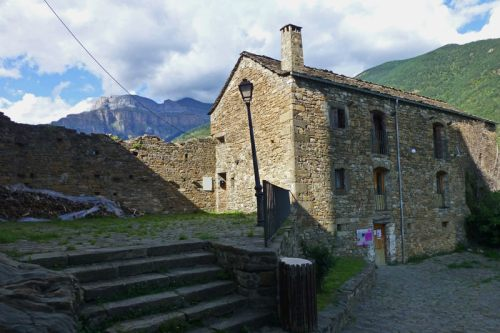 Museo Etnológico de Torla-Ordesa ubicado en el antiguo castillo