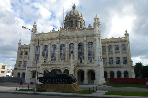 Antiguo Palacio Presidencial de Cuba, sede en la actualidad del Museo de la Revolución, museos de La Habana