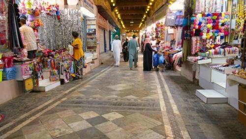 Calles del Zoco de Mutrah