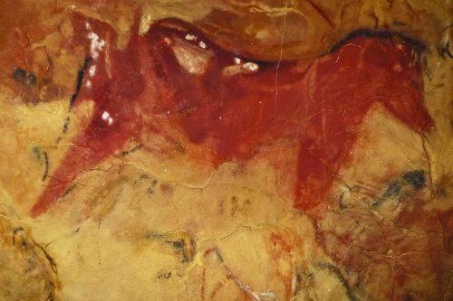 Caballo representado en las pinturas de la Cueva de Altamira