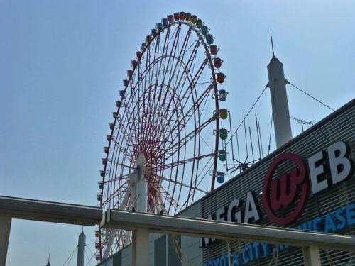 Odaiba Ferris Wheel, noria con vistas panorámicas de Tokio