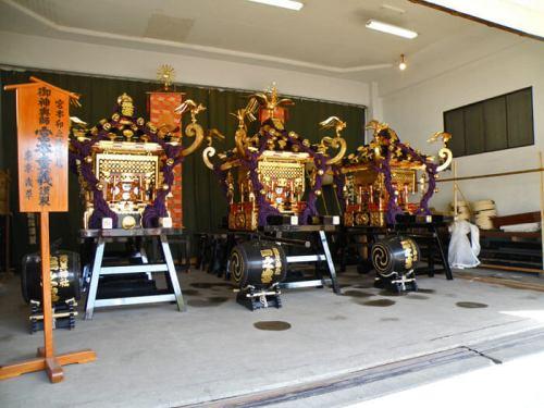Omikoshi del Sanja Matsuri, el festival más concurrido de Tokio