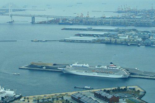 Osanbashi Pier, el muelle para cruceros del Puerto de Yokohama