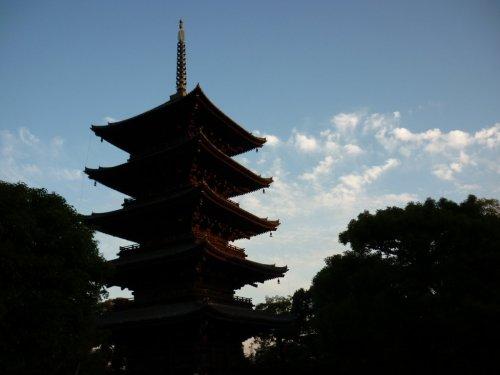 Pagoda del templo Toji en Kioto