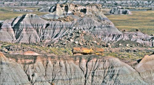Ruta Painted Desert Rim Trail, la más concurrida del Desierto Pintado de Arizona