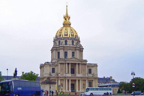 Iglesia de San Luis en el Palacio Nacional de los Inválidos