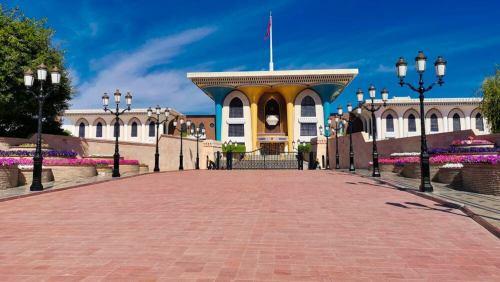 Bulevar frente al Palacio de Al Alam