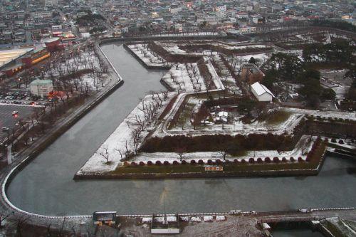 Fortaleza Goryokaku, la primera fortaleza de estilo occidental construida en Japón