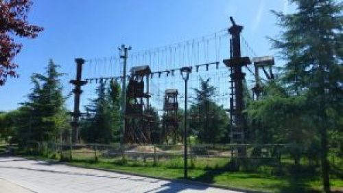 Parque Multiaventura con diferentes circuitos según su dificultad