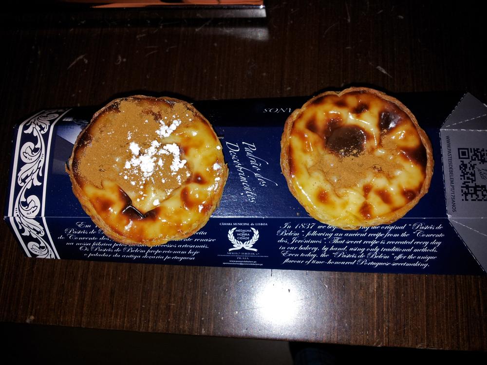 Pasteles de Belém, dulce típico de Lisboa, qué comer en Lisboa