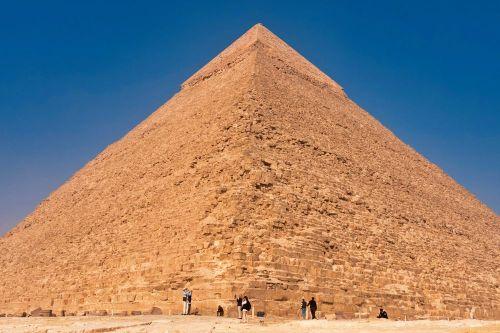 Pirámide de Kefrén (Jafra), la más alta de las Pirámides de Guiza