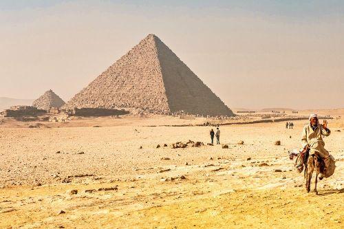 Pirámide de Micerino (Menkaura), la más pequeña de las Pirámides de Guiza