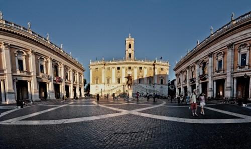 Palacio de los Conservadores y Palacio Nuevo en la Plaza del Campidoglio, Museos Capitolinos