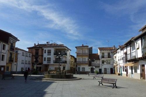 Plaza del Castillo en Candeleda