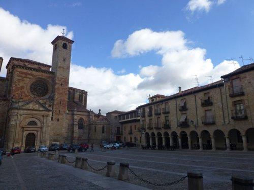 Plaza Mayor de Sigüenza, escenario principal de las Jornadas Medievales