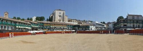 Panorámica de Chinchón, uno de los pueblos más bonitos de España