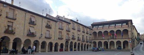 Panorámica de la Plaza Mayor de Sigüenza