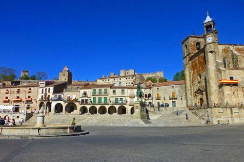 Plaza Mayor de Trujillo, una de las más bonitas de España