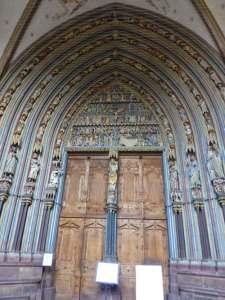 Portada de la Catedral de Friburgo
