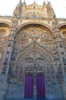Portada principal de la Catedral de Salamanca