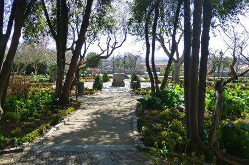 Pozo de los deseos en el Huerto de Calixto y Melíbea en Salamanca
