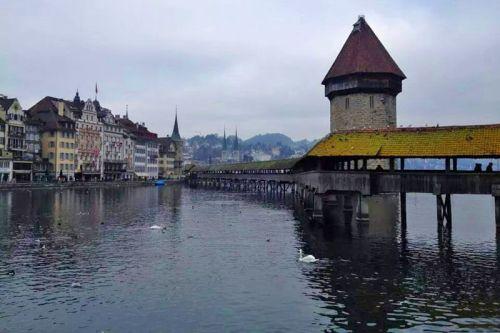 Puente de la Capilla (Kapellbrücke), símbolo de Lucerna