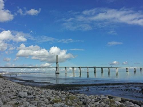 Puente Vasco de Gama, puentes de lisboa