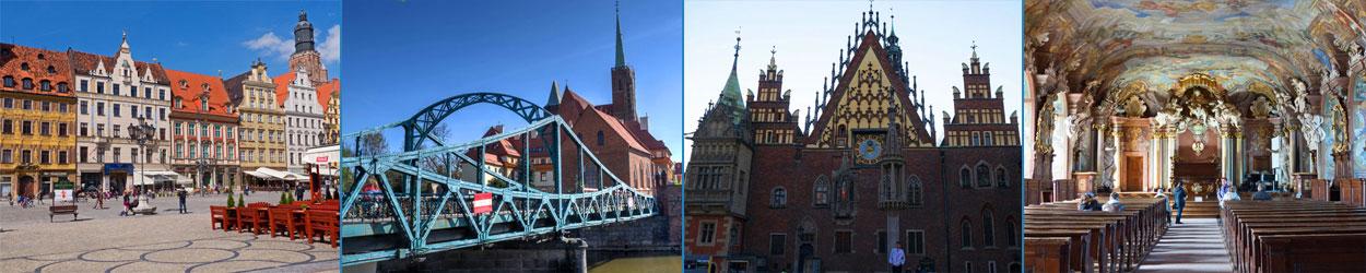 Guía de turismo con todo lo que hay que ver en Breslavia (Wroclaw), museos, atracciones, plaza, catedral.