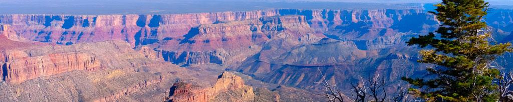 Guía de turismo con toda la información y fotos para planificar un viaje al Gran Cañón del Colorado