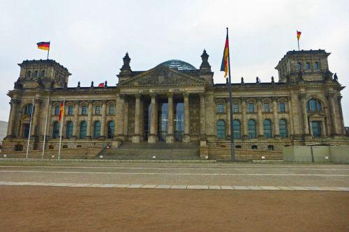 Parlamento Alemán en Berlín (Edificio del Reichstag)