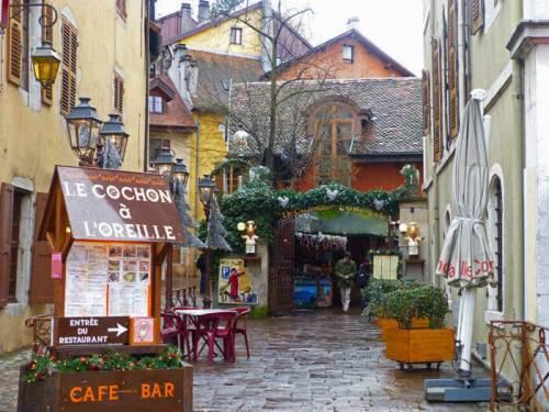 Restaurante Le Cochon à l'Oreille en Annecy