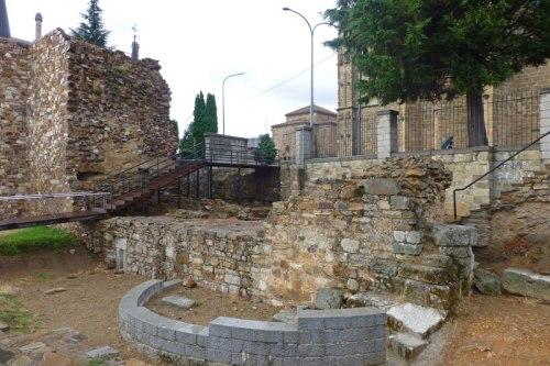 Restos de la muralla romana de Astorga