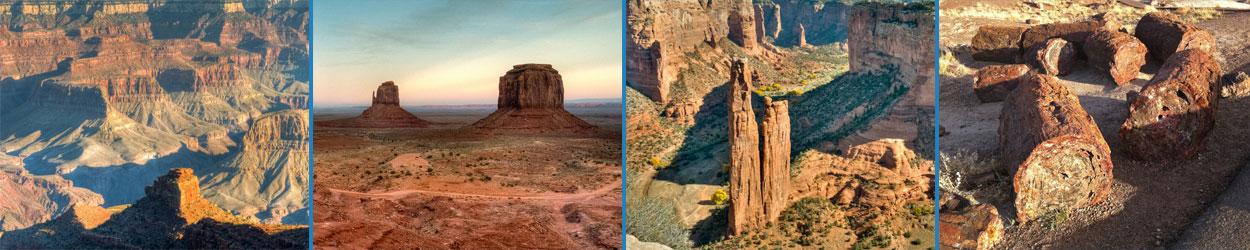 Guía turística con toda la información necesaria para recorrer la Ruta por los Parques Naturales de Arizona