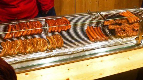 Variedad de salchichas alemanas, un básico de la gastronomía de Berlín