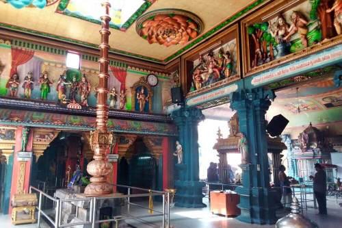 Interior del Templo Sri Kailasanathar Swamy Devasthanam