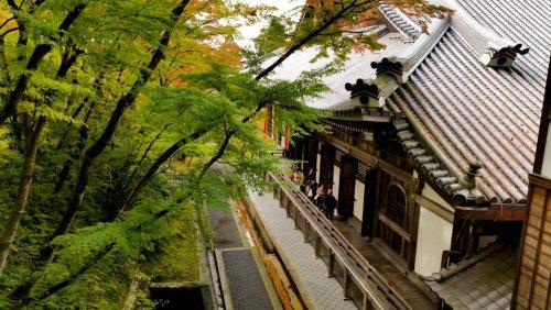 Salón de Amida del templo Eikando o Zenrinji